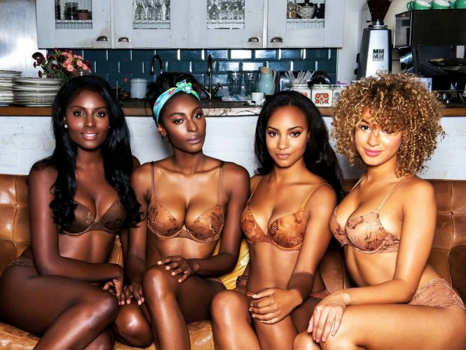 For Colored Girls: Nubian Skin, Lingerie for Brown Girls