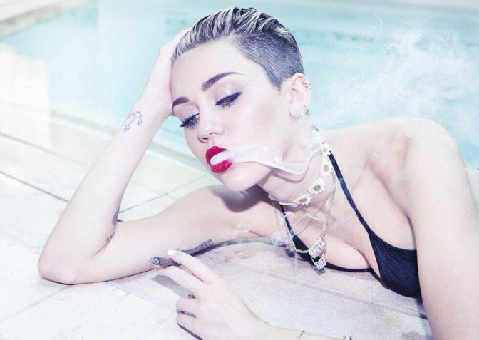 Makeup Made in Heaven: Miley Cyrus x Viva Glam