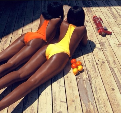 women bathing suits lemons