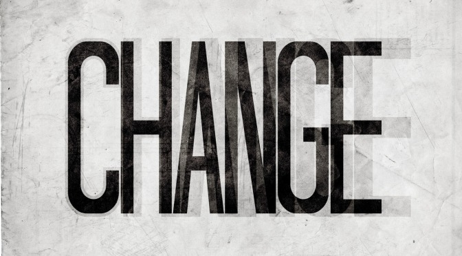 CHANGE: Time to Move On